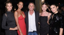 Josephine Skriver, Lais Ribeiro, Russell James, Martha Hunt, Sara Sampaio at US Book Launch of Backstage Secrets by Russell James