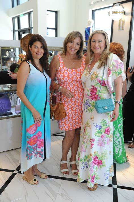 Lesly Lyons, Carol Flynn, and Nicole Lozano