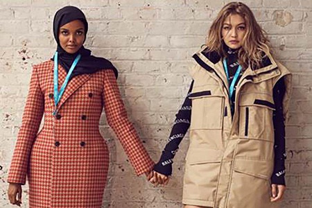 Gigi Hadid and Halima Aden Cover CR Fashion Book 13