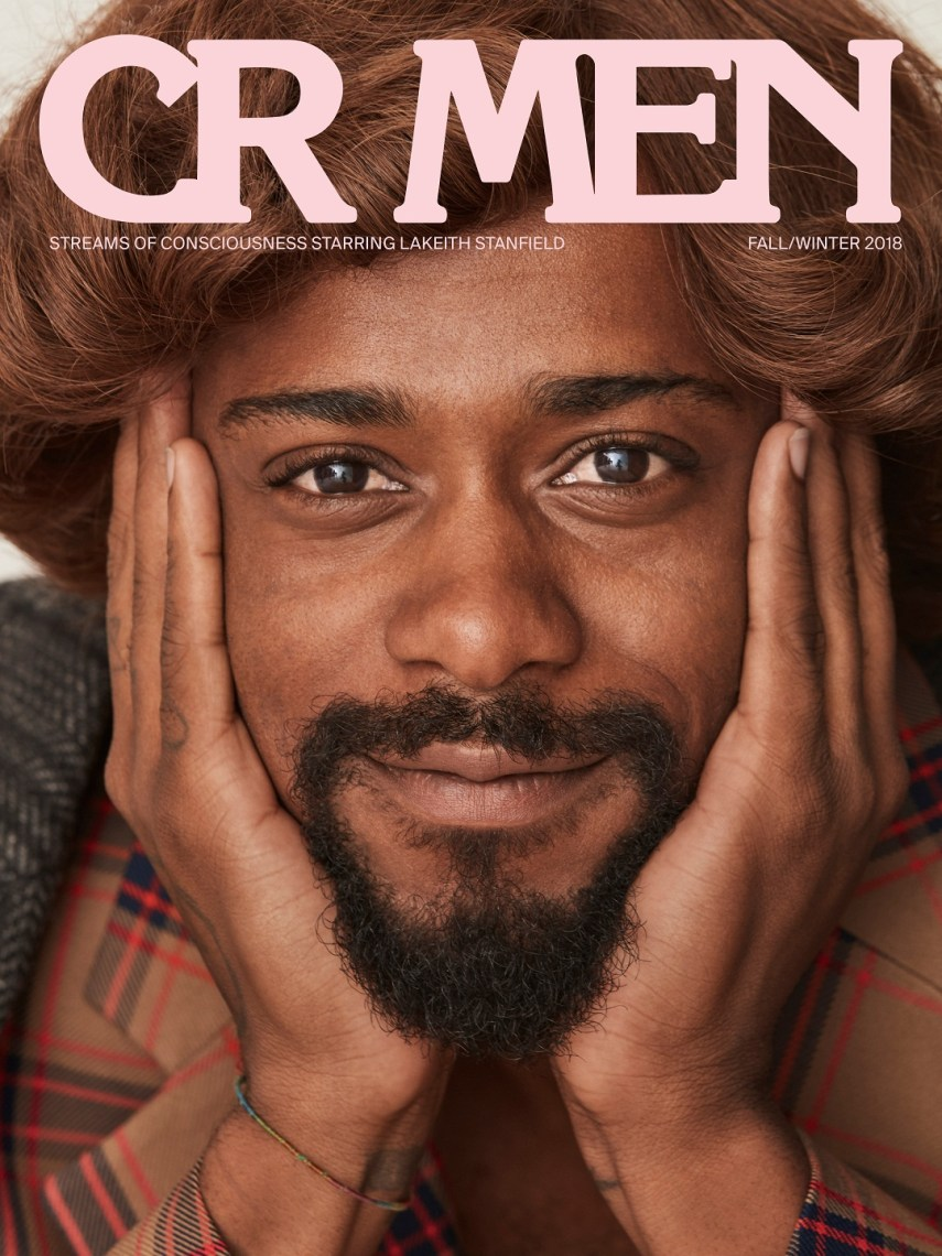 Lakeith Stanfield covers CR Men Issue 7