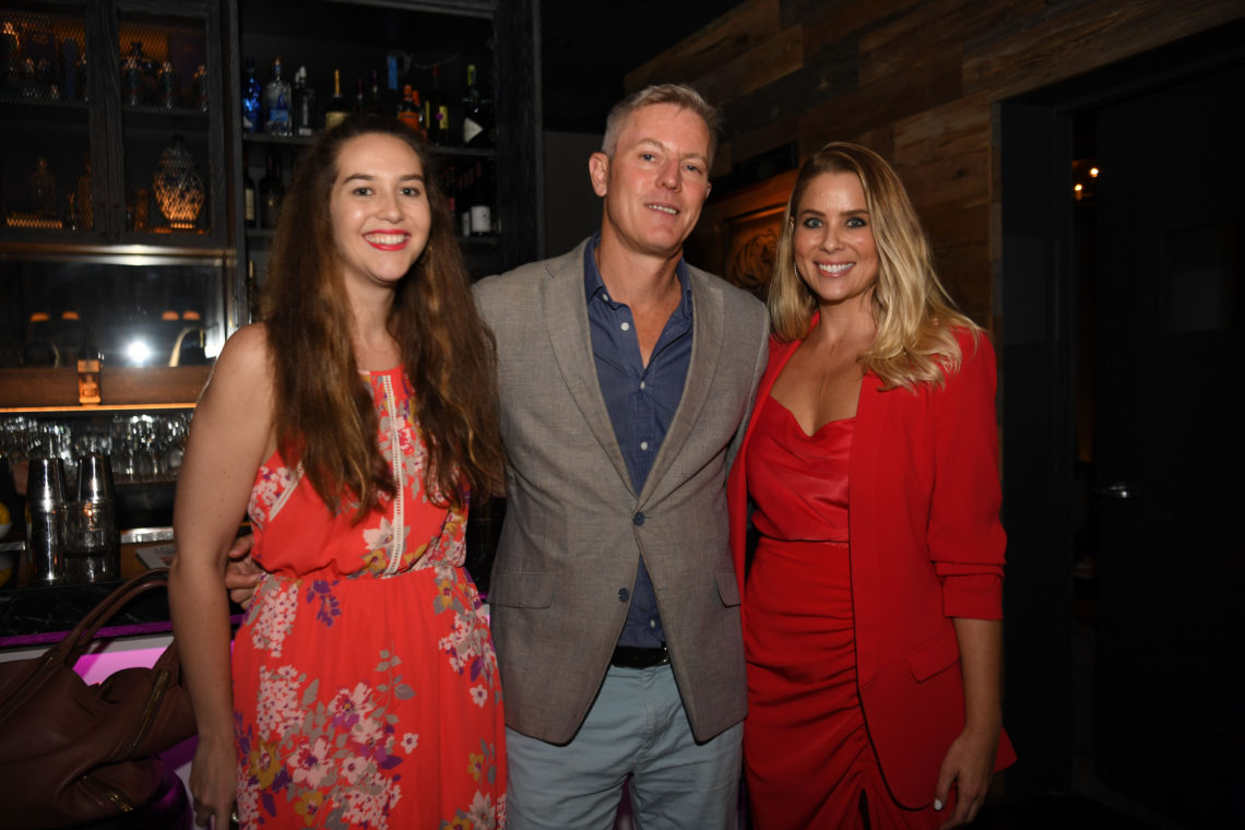 Hannah Freedman, Andrew Dent, & Amanda Harris