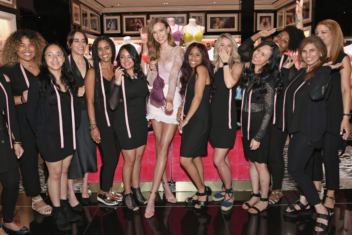 Supermodel Josephine Skriver Celebrates Victoria's Secret's Global Team Of Bra Fit Experts And Launches The All New Body By Victoria Collection
