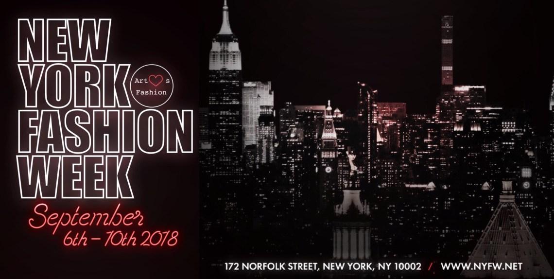 New York Fashion Week - Art Hearts Fashion Schedule