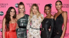 VICTORIA'S SECRET ANGELS GATHERED TO WATCH THE 2018 VICTORIA'S SECRET FASHION SHOW