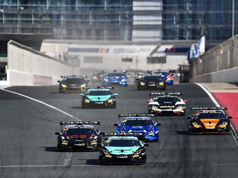 Lamborghini Super Trofeo Middle East Dubai 3