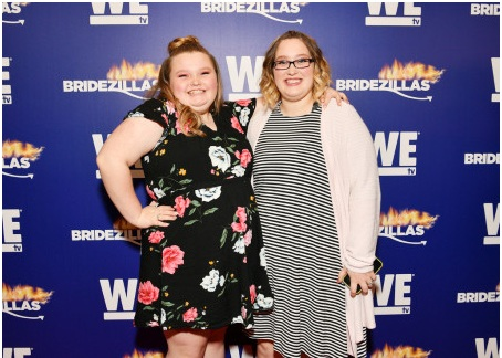"""Alana """"Honey Boo Boo"""" Thompson and Lauryn 'Pumpkin' Shannon attend WE tv's premiere fashion event celebrating the return of """"Bridezillas"""" on March 13, 2019 at Angel Orensanz Foundation in New York City. (Photo by Dia Dipasupil/Getty Images for WE tv)"""
