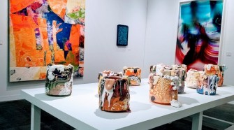 "RYAN GANDER WINS PREMIER ""POMMERY PRIZE"" AT THE ARMORY SHOW"