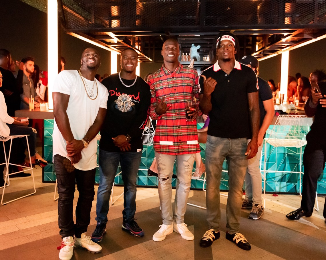 Charles James II, Jacoby Ford, Chad Johnson, Rashard Robinson