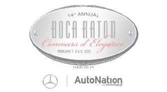 THE 14th ANNUAL BOCA RATON CONCOURS D'ELEGANCE HEADLINER ANNOUNCEMENT