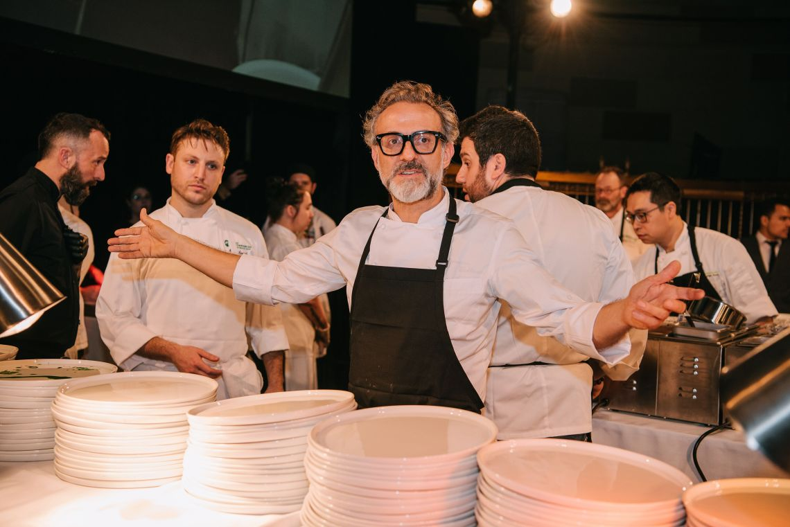 Massimo Bottura at Once Upon a Kitchen 2018
