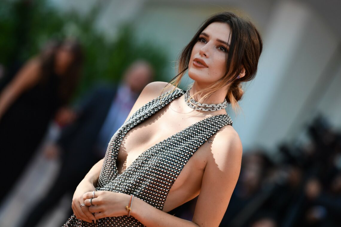 "Bella Thorne dazzled in Avakian Fine Jewellery at the 76th Venice Film Festival for the screening of ""Joker"""