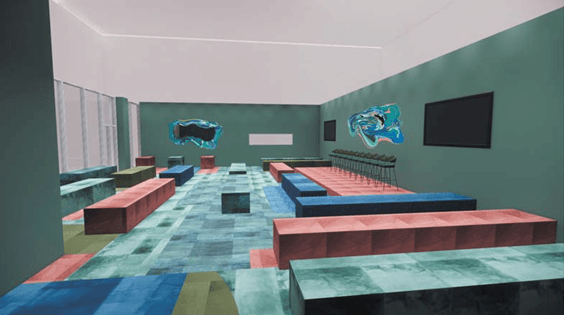 Rendering of the Design Forum/ SCAD, 2019/ Courtesy of SCAD