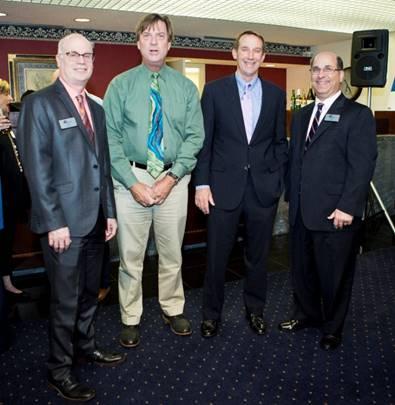 Ari Bodner, Mark Allsworth, John Adair and James Odza