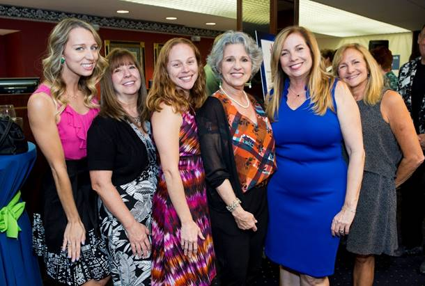 Amy McDonald, Debbie Journell, Stacey Ziegler, Ellen Fischer, Julie Valent and Shari Lynn