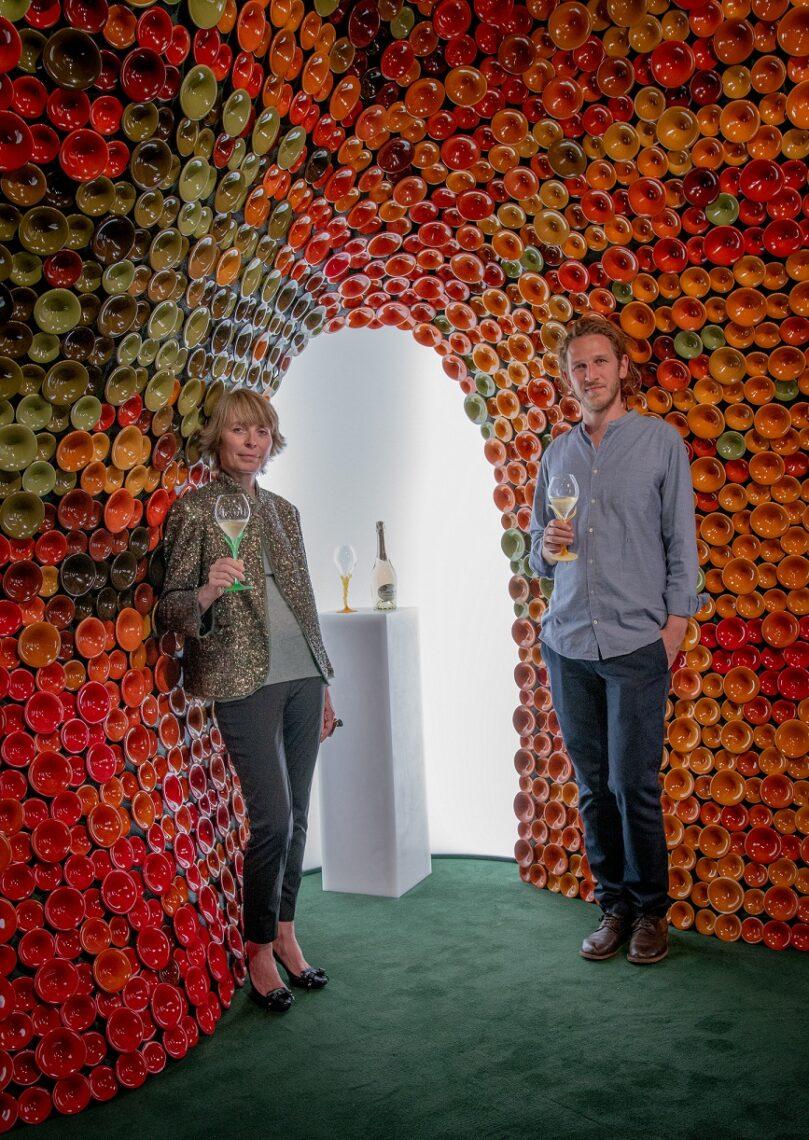 Perrier Jouet, Axelle De Buffevent & Andrea Mancuso, Design Miami 2019