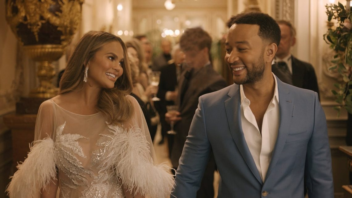 Chrissy Teigen and John Legend star in the Genesis brand's first Super Bowl ad featuring its first-ever Sport Utility Vehicle, the Genesis GV80.