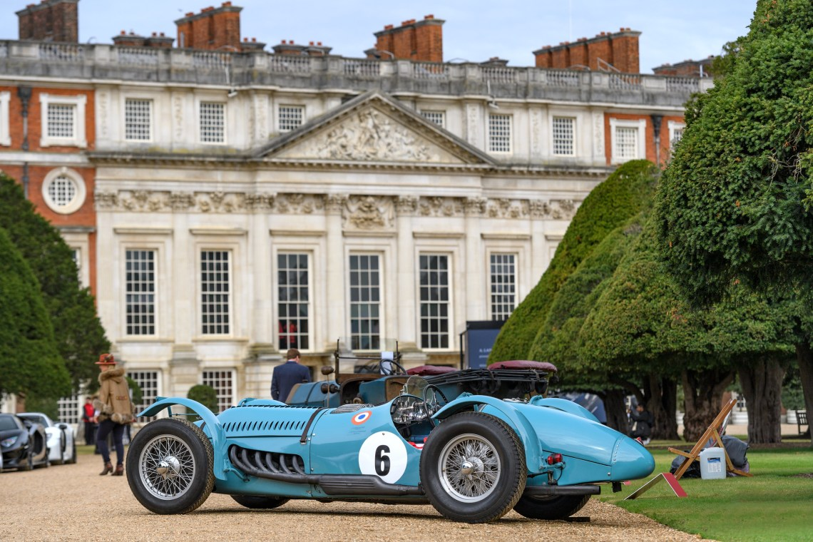CONCOURS OF ELEGANCE ON TRACK FOR A GREAT EVENT IN SEPTEMBER AT HAMPTON COURT PALACE