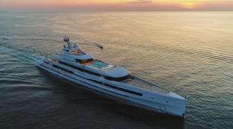 "BENETTI DELIVERS FB277 M/Y ""LANA"" 107 METER GIGA YACHT"