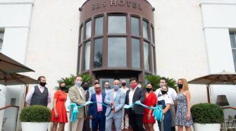 SBE Ribbon Cutting at SLS South Beach