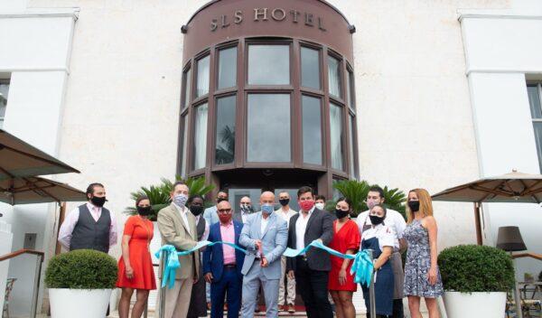 SBE Ribbon Cutting at SLS South Beach
