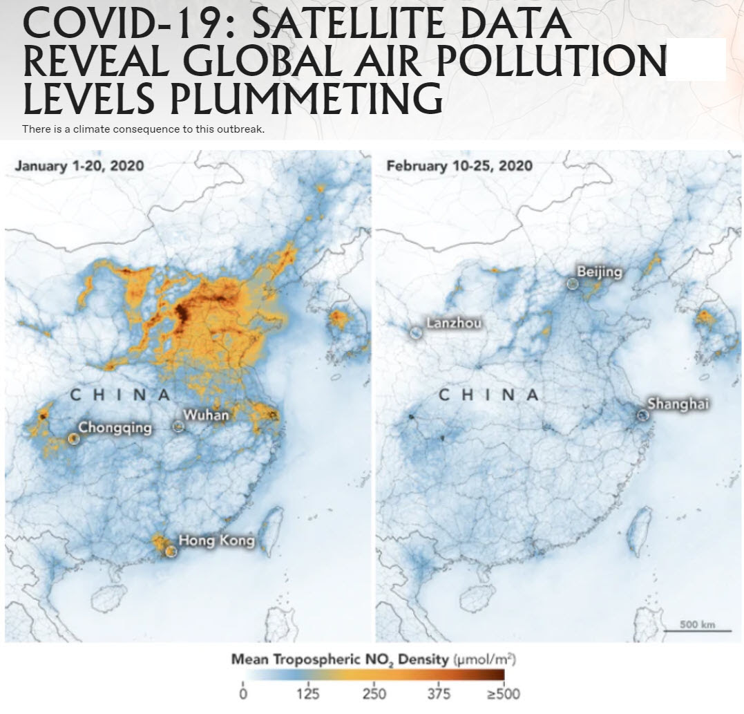 Covid-19 Satellite data
