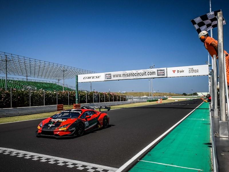 Lamborghini Super Trofeo Europe-Misano finish race 2