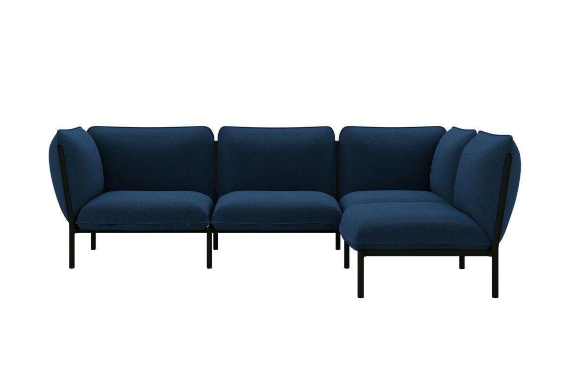 Kumo Corner Sofa Right with Armrest