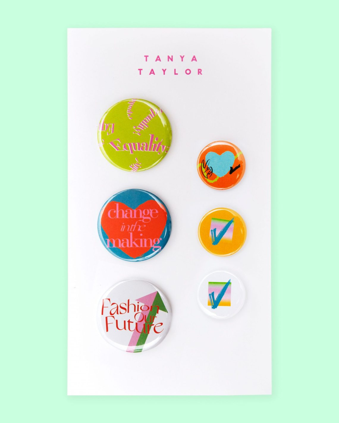 Tanya Taylor Buttons, presented by Visa ($40)