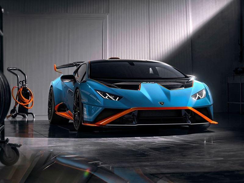 New Lamborghini Huracán STO