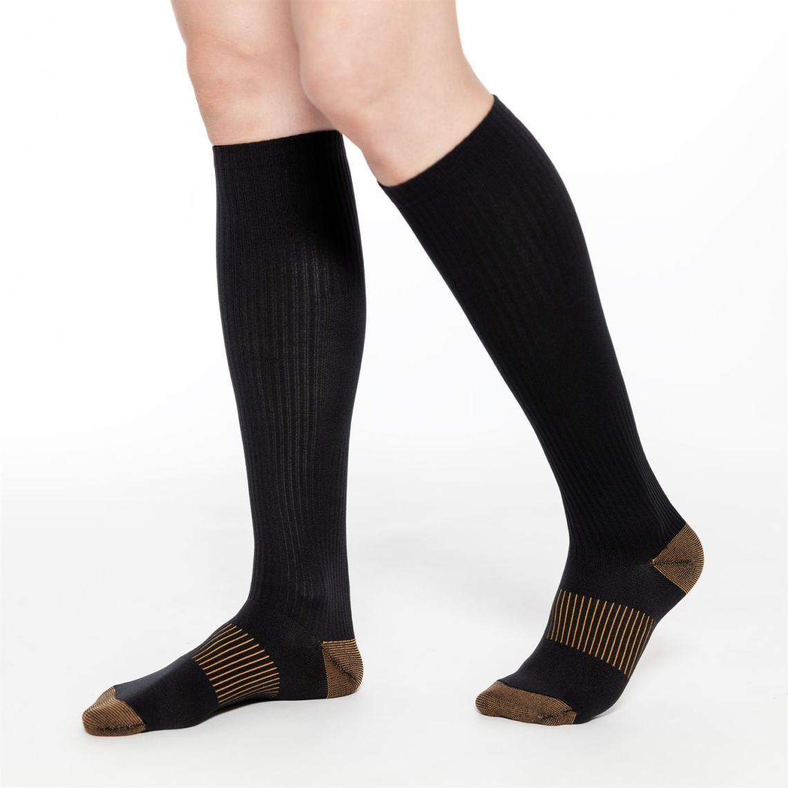 Knee High Recovery Support Socks_Copper Compression