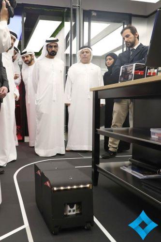 NEXT small prototypes 2016 DFA with Sheik Al Maktoum