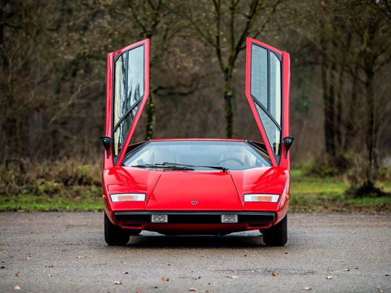 Lamborghini Countach LP400 - Courtesy RM-Sotheby's