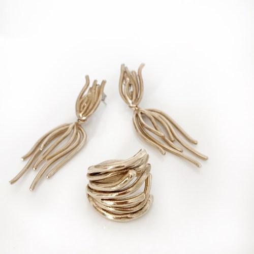 Matuta Gioielli Flame anello e orecchini HOMI Fashion Jewels Exhibition Community