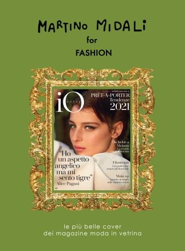 Martino Midali for Fashion: io donna cover