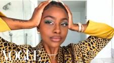 Justine Skye's Guide to Green Eyeshadow & Her True Beauty Secret | Beauty Secrets | Vogue