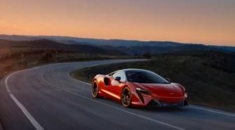 All New McLaren Artura High-Performance Hybrid Powertrain Sets New Supercar Standards Amplifies McLaren Driving Experience