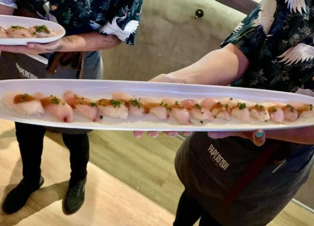 Hamachi Sushi Nigiri