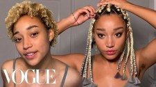 Amandla Stenberg's Guide to Box Braids, Smoky Eyes, and TikTok Brows | Beauty Secrets | Vogue