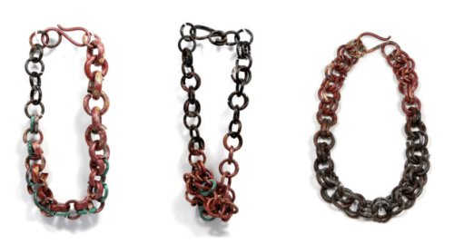 Necklace by Ariel Lavian, second prize of the Jewelry Selection International Competition 2020