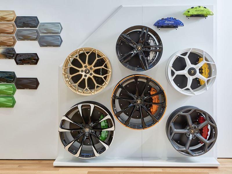 Lamborghini Lounge NYC - Ad Personam Room (Wheels)