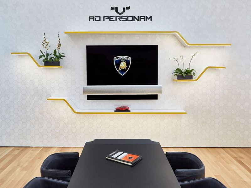 Lamborghini Lounge NYC - Ad Personam
