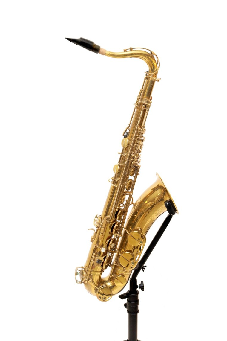 LeRoi Moore's tenor saxophone