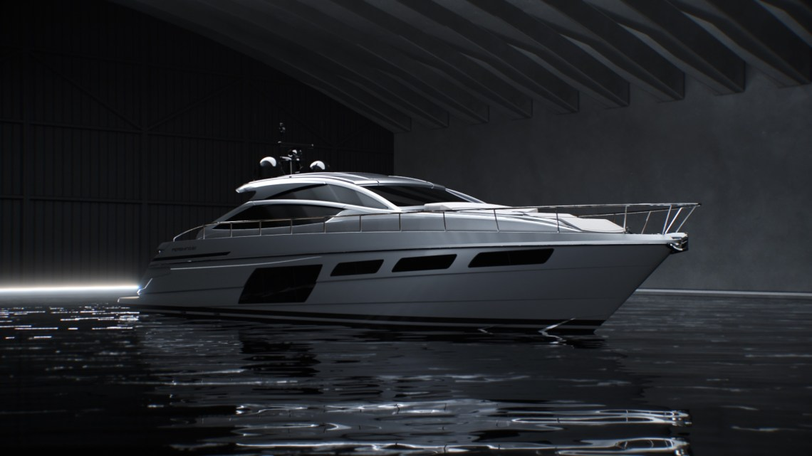 New Pershing 6X bold by nature