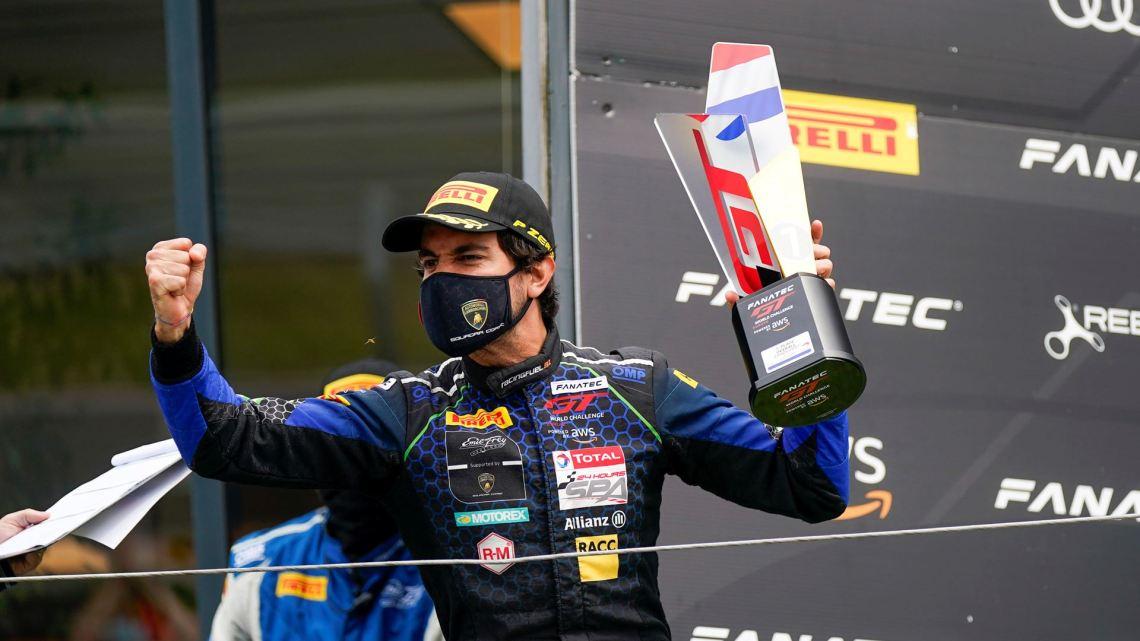GTWC Europe - Emil Frey podium - Zandvoort - Albert Costa