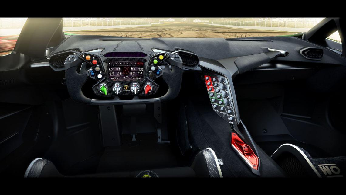 Lamborghini Essenza SCV12 - Centro Stile Interior