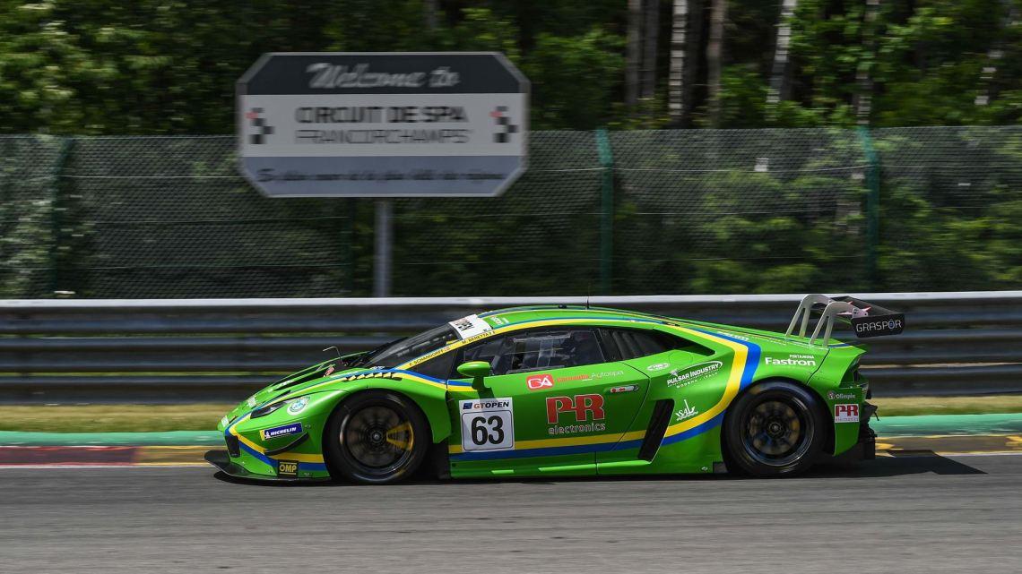 Lamborghini Huracán GT3 EVO - GT Open - Vincenzo Sospiri Racing