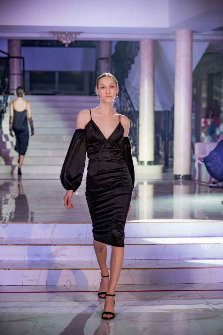 Perle Noire with the Perlenoire collection of black dresses