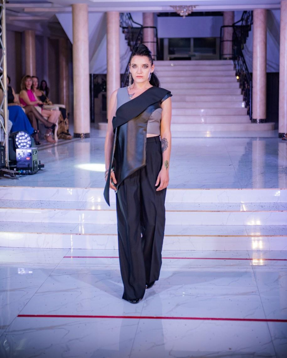 "Designer Olga Zheleznyak, plus size business womenswear brand with the ""Freedom of Life"" collection"