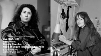 Live Q&A A. Roege Hove and Sara Maino, Vogue Italia