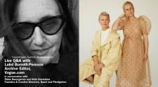 Live Q&A Baum und Pferdgarten and Laird Borrelli-Persson, Vogue.com